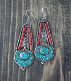Phuma Yumtso Tibetan Earrings