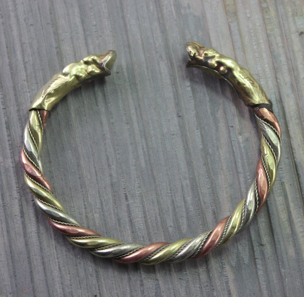 3 metal Dragon Bracelet