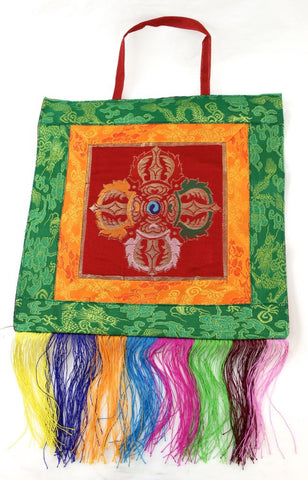 Double Dorje Wall hanging