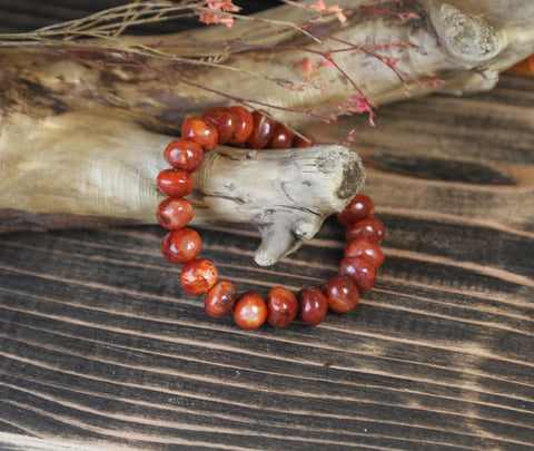 One of a kind Carnelian Bracelet