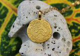 Gold Vermeil Dragon Pendant