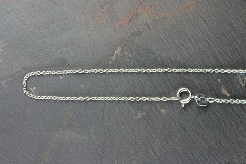 Silver Flat Cable Chain