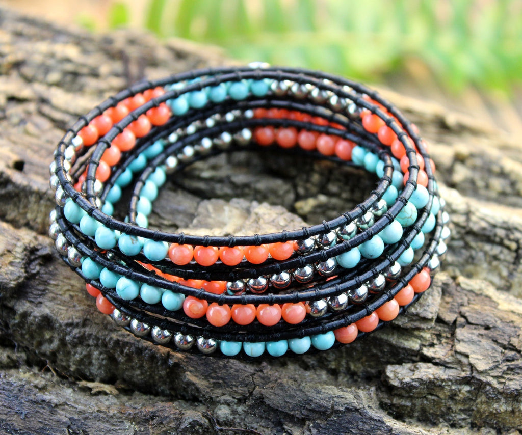 Seaside Wrap Bracelet