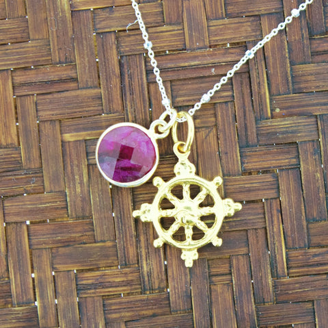 Root Chakra Necklace