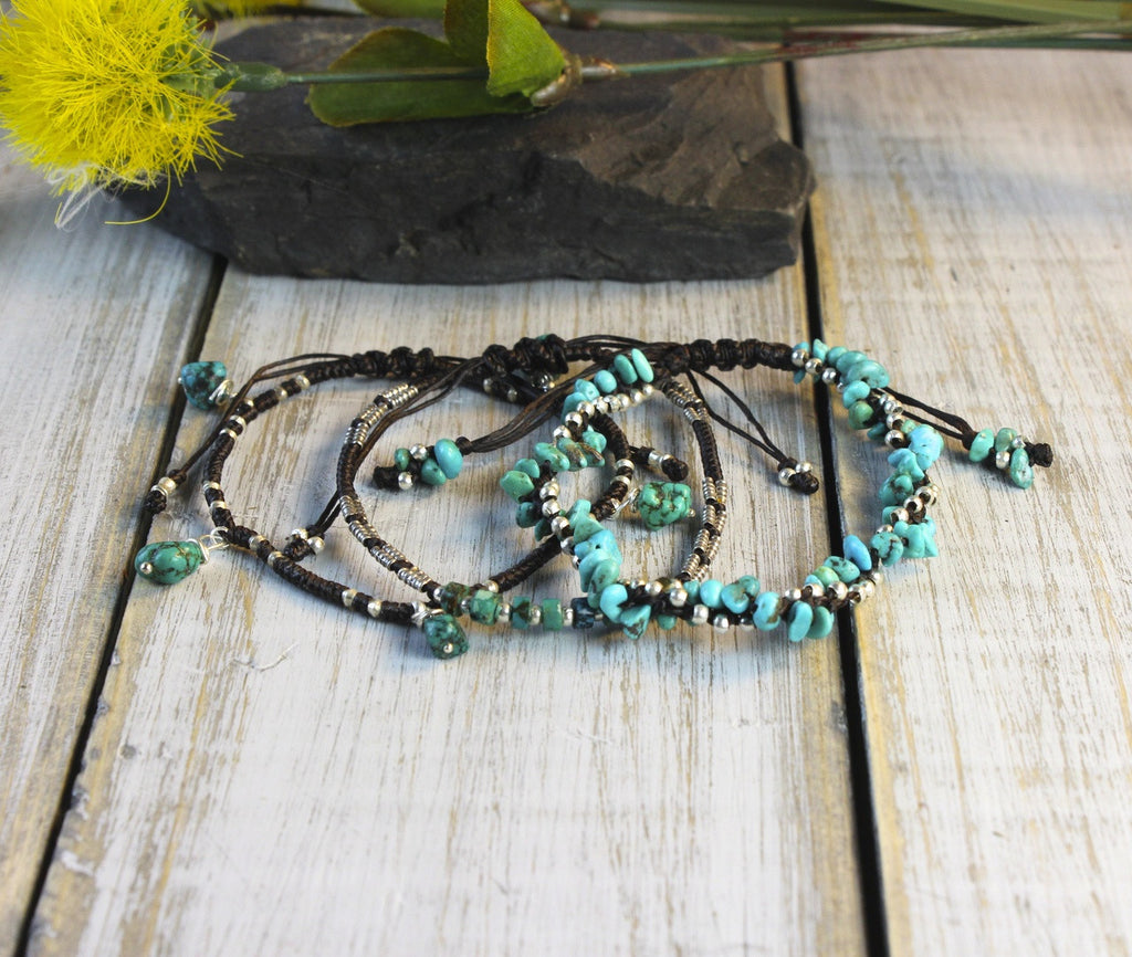 Turquoise Eclectic Bracelet Stack