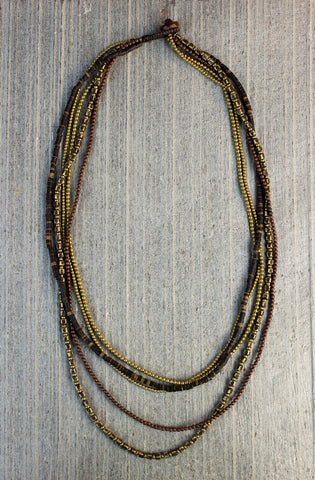 Brass Treasures Necklace