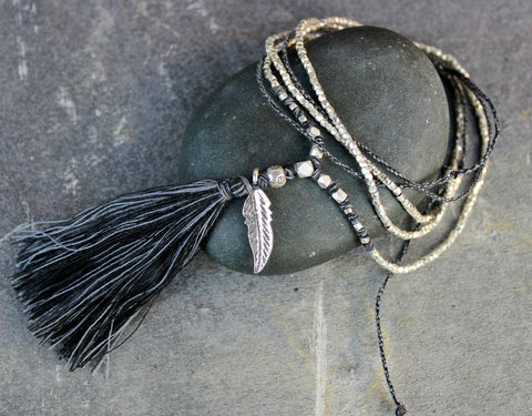 Komala Tassel Necklace