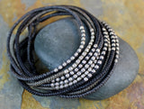 Black Tatra Necklace/Wrap