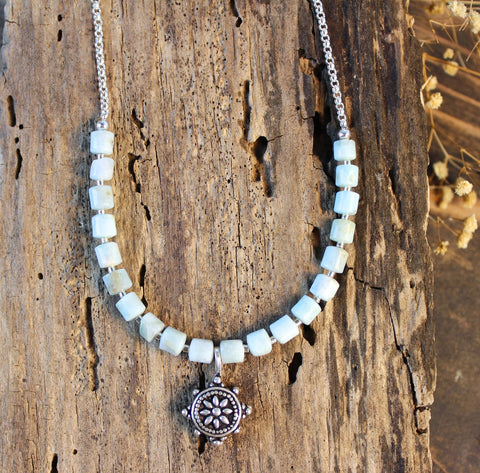 Adri Larimar Necklace