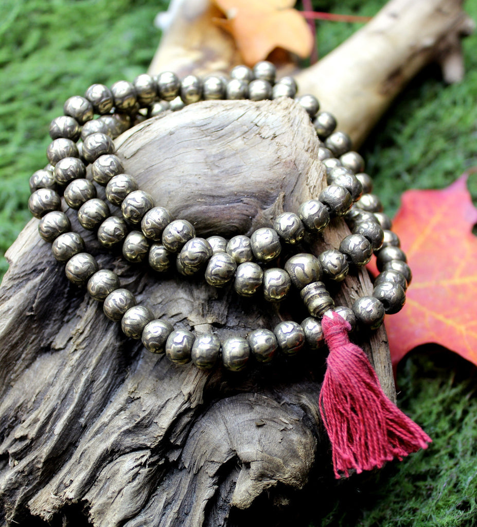 Brass Compassion Mala