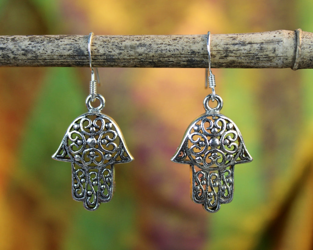 Hamsa Enlightenment Earrings