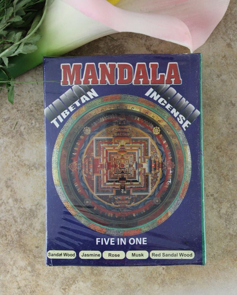 Mandala Gift Set 5 Rolls Of Incense