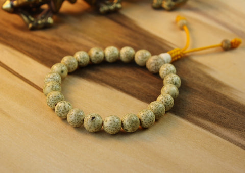 Pema Wrist Mala With Lotus Seeds