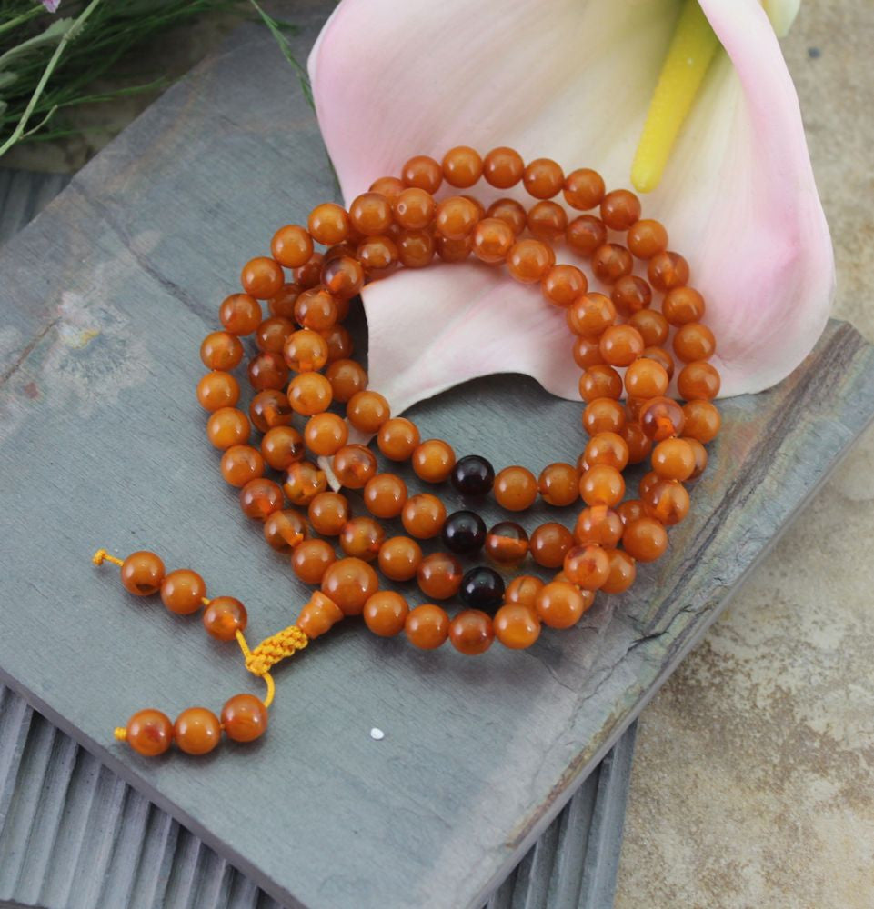 Awesome Copal Amber Stretchy Mala