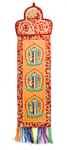 Kalachakra Banner With Red Border
