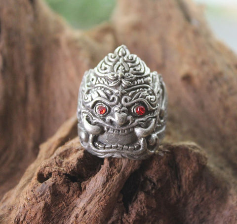 Mens Thai Wrathful Deity Ring
