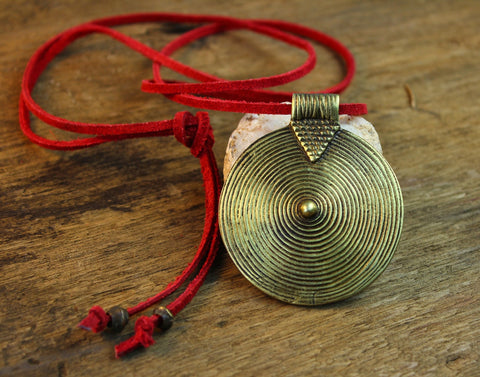 Eternal Spiral Necklace