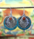 Tibetan Samsara Fish Earrings