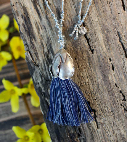 Supta Tassel Necklace