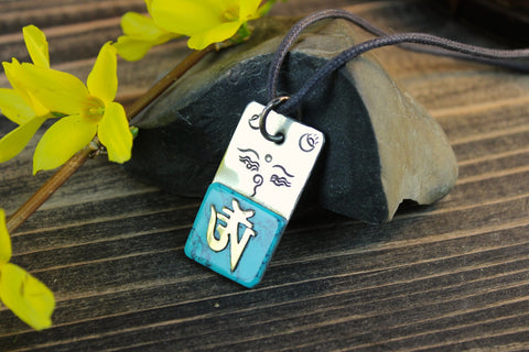 Eyes of Buddha Pendant