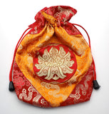 Red Lotus Mala Bag
