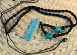 Turquoise Mantra Necklace