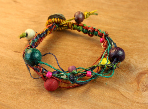 Decorative Hemp Bracelet