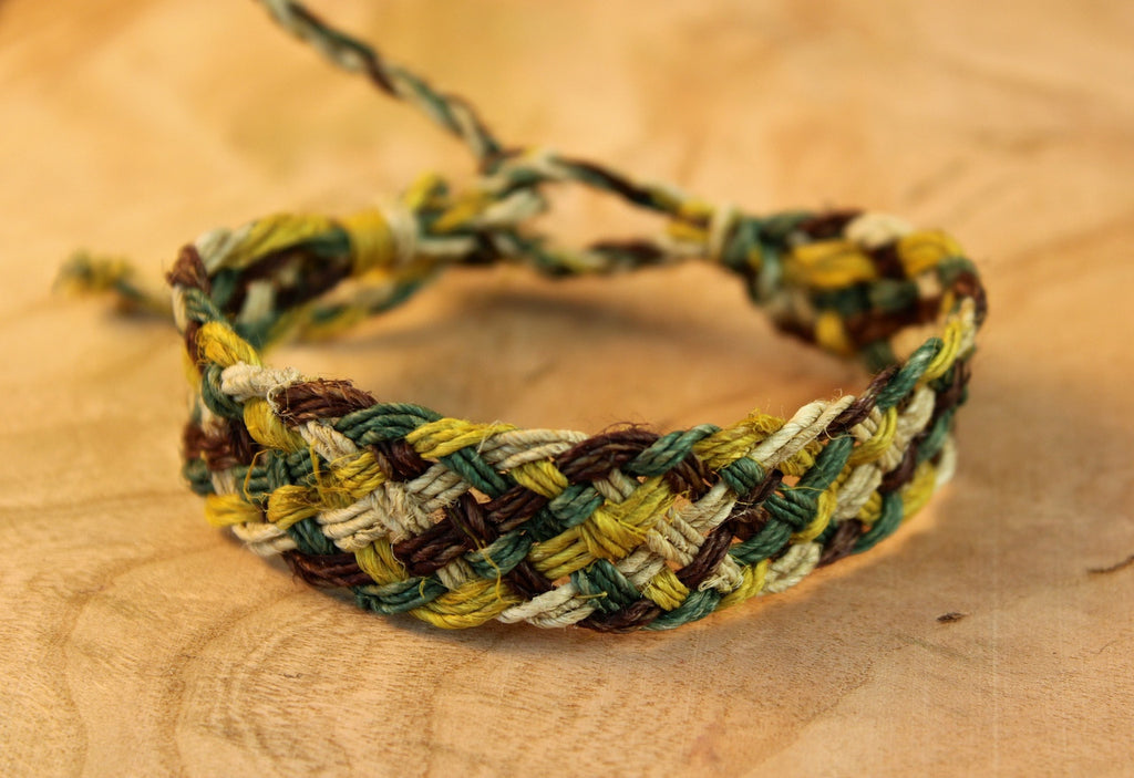 Braided Hemp Bracelet