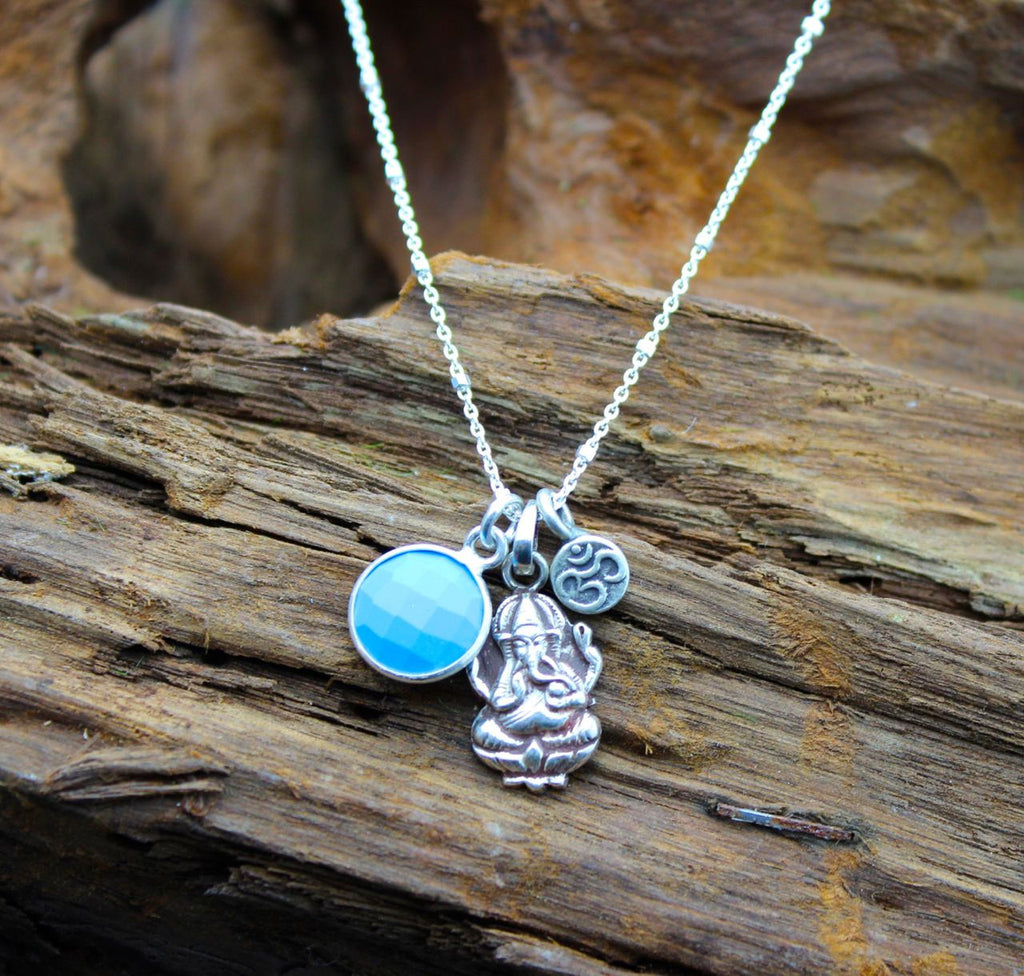 Ganesh OM Tranquility Necklace