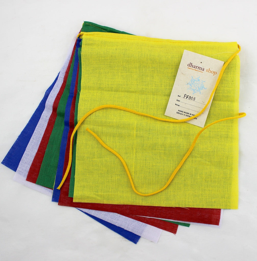 Cotton Blank Prayer Flags
