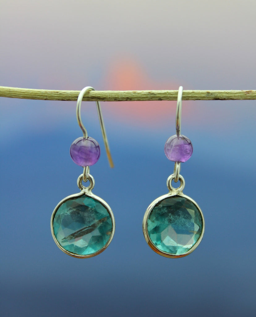 Apatite Drop Earring