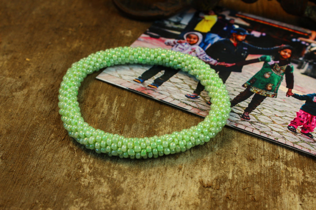 Earthquake Relief Bracelet-Green