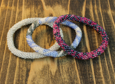 Serene Set of 3 Roll On Bracelets