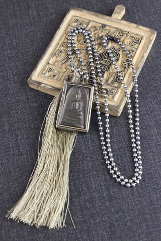 Handmade Thai Amulet Blessings Necklace