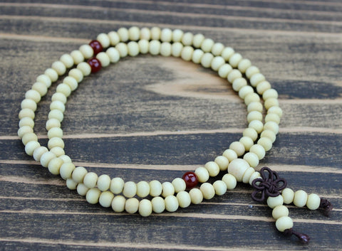 Small Light Wood Mala