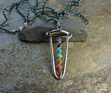 Chakra Necklace With Turquoise