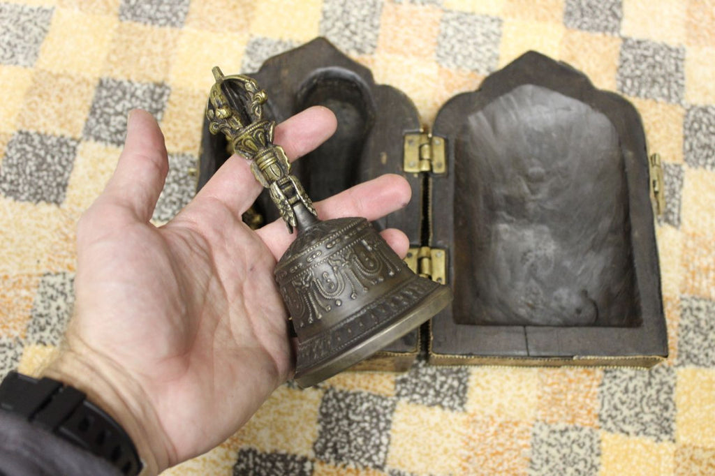 Magical Tibetan Bell and Dorje Box