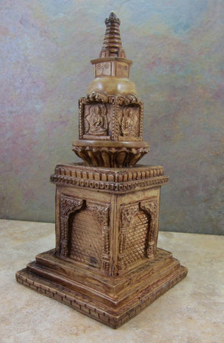 Amazing Table Top Altar Stupa