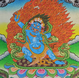 Hand Painted Vajrapani Thangka
