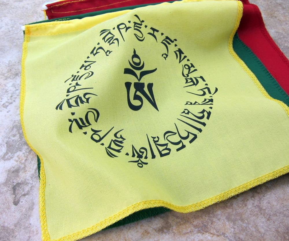 Medicine Buddha Mantra Prayer Flags