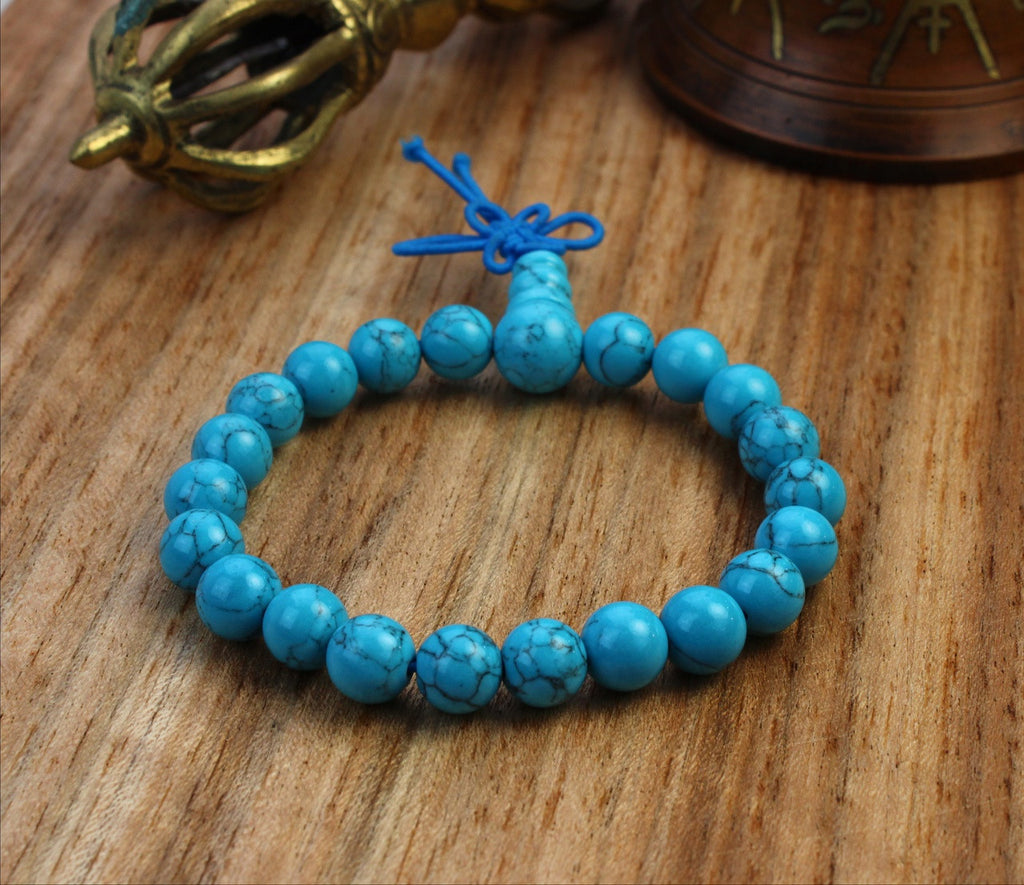 Positive Outlook Howlite Wrist Mala 8mm