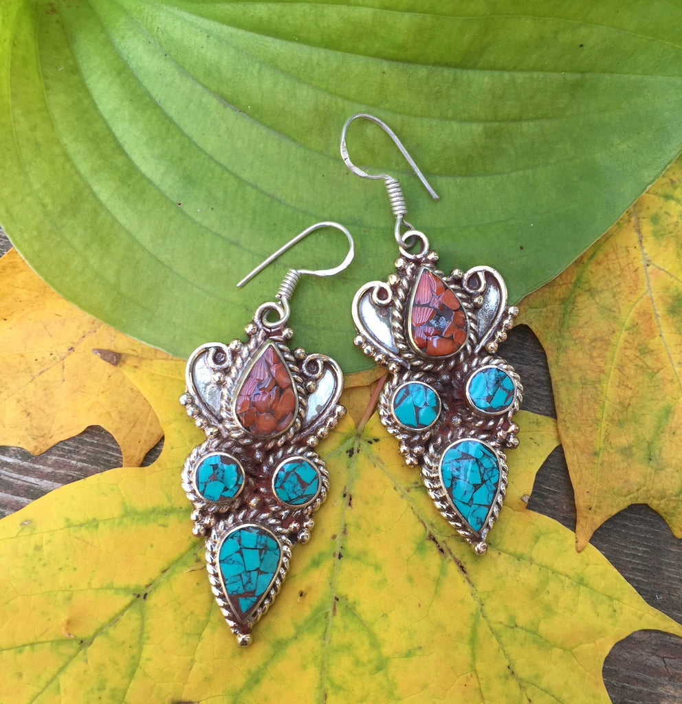Chaya Turquoise Earrings