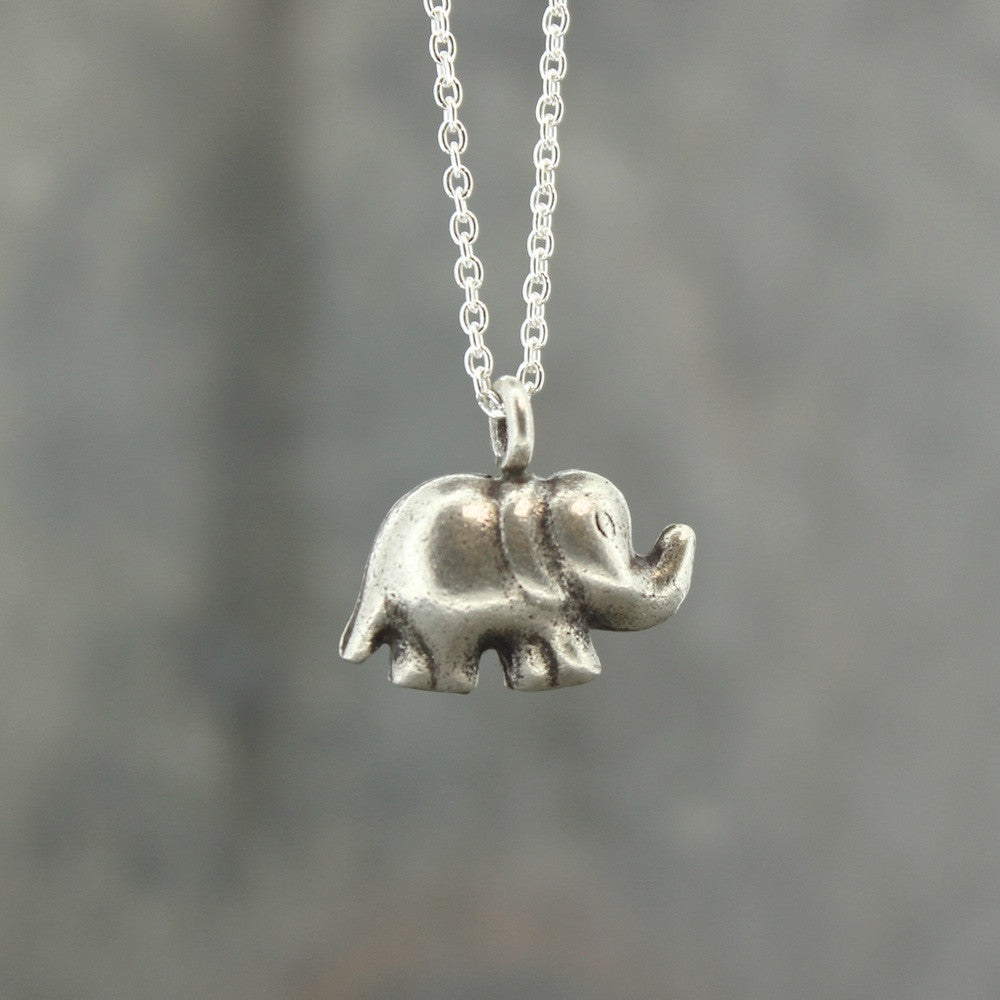 Hill Tribe Elephant Pendant
