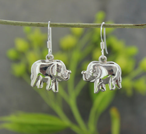 Happy Elephant Earrings