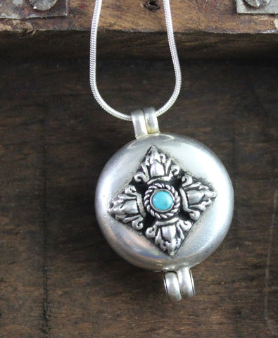 Large Tibetan Dorje Gau Locket