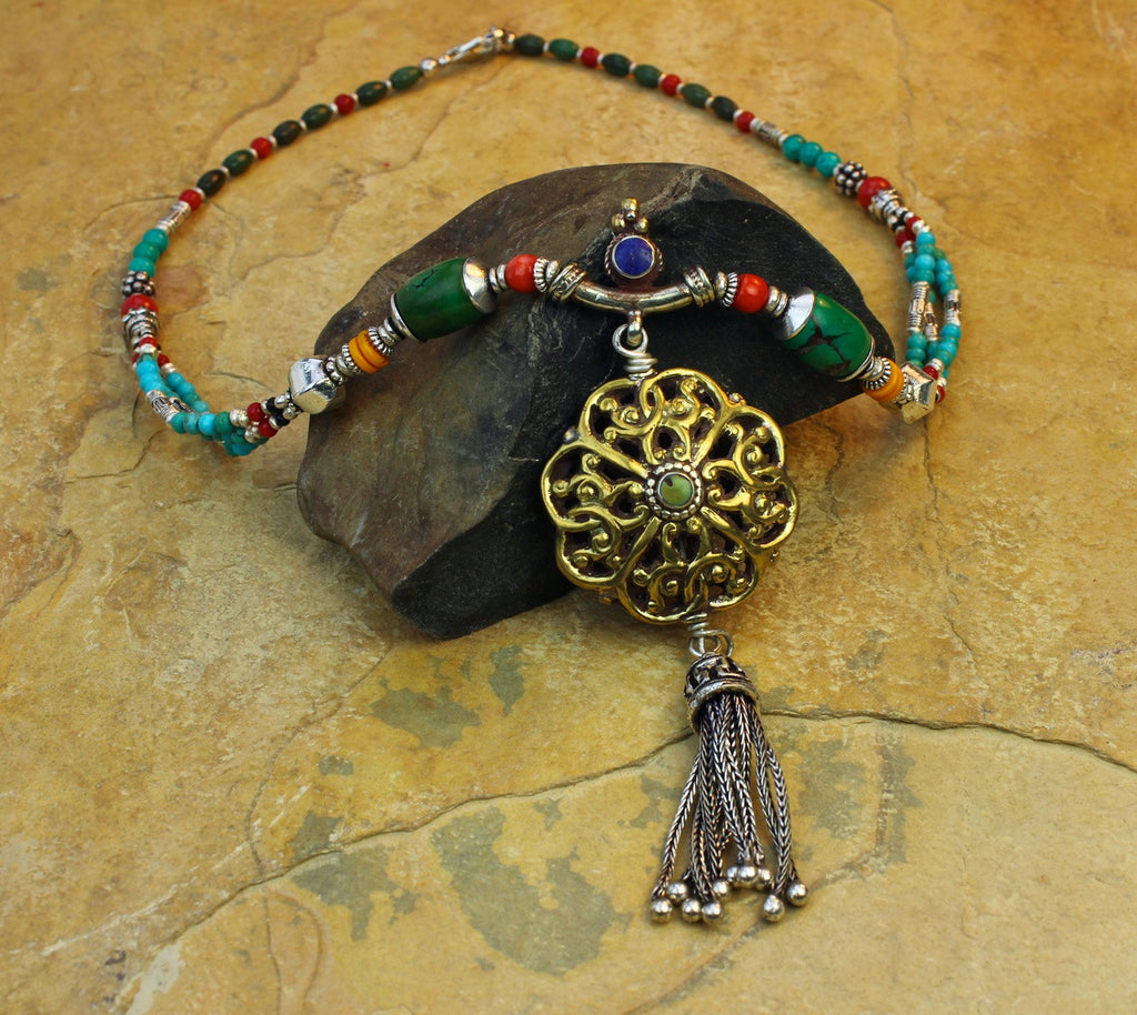 Tibetan Energy Necklace