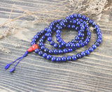 lapis and Coral 108 mala