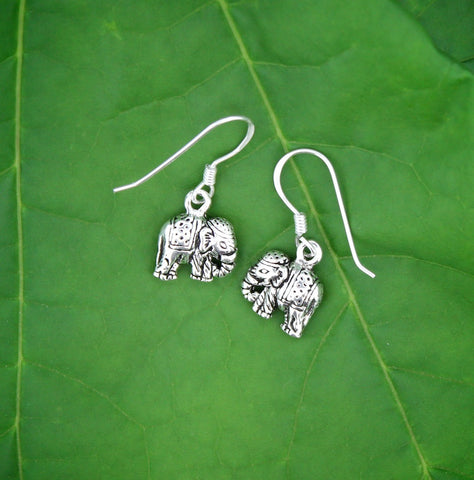 Fancy Elephant Earrings