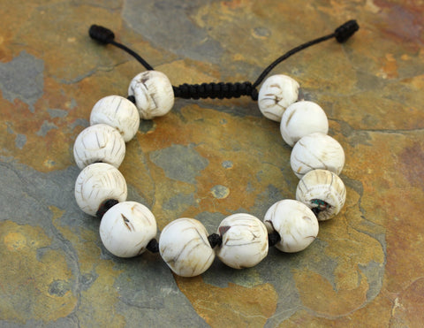 Traditional Naga Shell Bracelet