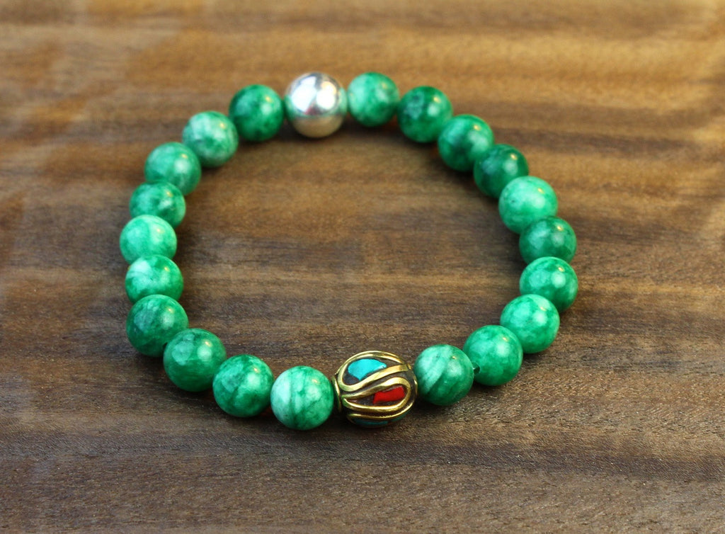 Dream Stone Jade Wrist Mala
